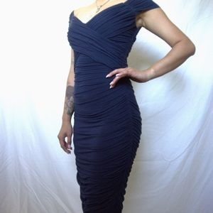 ❤️NWOT Bailey44 dark blue dress